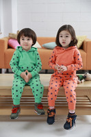 Boy kids sweat suits - 10 New Unisex Baby Kids Stars Cotton Blended Outfit Outwear Sportswear Leisure Suit Sport Suit Sweat Suit For Spring Autumn Winter