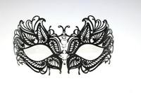 Fashion Laser cut Metallic Mask Venetian Masquerade Ball Mas...