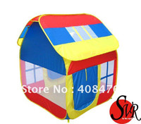 Tents Animes & Cartoons Polyester Free Shipment Play House Children Tent Outdoor and Indoor Sports Tent Toy Tent