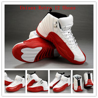 Wholesale 2013 New Hot Sale Cheap Authentic Brand Mens Womens Retro XII Basketball Shoes for Lovers Super A Top Quality EUR Size