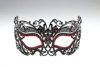 20pcs Fedex, Hot Laser cut Metallic Mask Venetian Masquerade ...