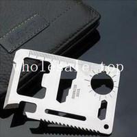 Wholesale Large saber card multifunctional knife card life saving card universal camping tool card holsteins g