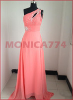Reference Images V-Neck Chiffon 2014 Sexy One Shoulder Chiffon Evening Dresses Sweetheart Prom Gowns Dress Bridesmaid Dress,chiffon cockktail evening gown dress,MW062