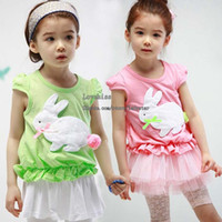 Girl Summer Standard Tee Shirt Cotton Shirts Child Clothing Girls Cute Bowknot Cartoon T Shirt Children T Shirts Girl Clothes Kids Summer Short Sleeve T Shirt