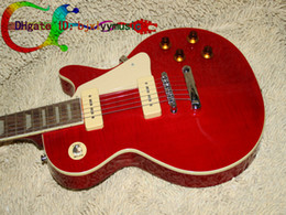 On sale Stock Guitar Custom Red Electric Guitar High Cheap