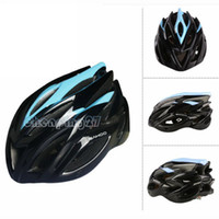 Wholesale Hot selling Blue MTB Road Mountain Cycling Helmet Bike Sports Bicycle Adult Safety Holes Helmet with Insect Net In Stock Blue Red Yellow