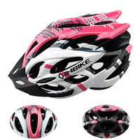 adult bmx bike helmet - Hot selling Bicycle Bike Cycling Adult Men Women Carbon Helmet Cycling BMX Bicycle MTB Road Hero Helmet Holes w Visor Pink in Stock