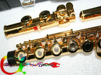 Wholesale Gold Plated Open Hole Quality FLUTE With case