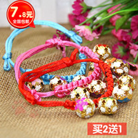 Wholesale Pure hand woven dog collar bell dog small dog necklace jewelry Teddy VIP nationwide shipping