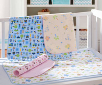 Wholesale Baby Changing Pads Bamboo Fiber Ring Waterproof Baby Changing Mat Antimicrobial No Stimulation Layers Size cm