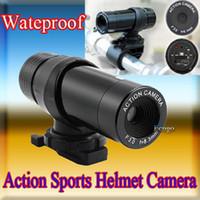 Wholesale Waterproof Action Sport Helmet Video Cam DVR Camera