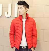 Wholesale Winter Down Jacket coat Men s Thicken warmed Cotton Padded Clothes