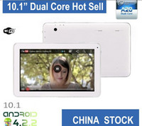 """Cheap Wholesale - 10"""" 10.2"""" Gift New android 10.1 Inch tablet pc Google Android 4.2 8GB Mulit Touch Screen Dual Camera 1GB RAM HDMI"""