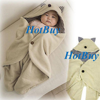 Wholesale Multifunction Baby Infant Swaddle Warm Blanket With Hood Sleeping Bag Wrapping