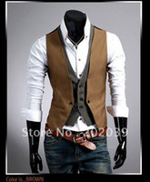Wholesale New fashion mens sleeveless Hoodie Jumper Vest Business Waist A060 Abie