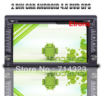 Wholesale 2 Din Car Android DVD GPS Car PC Android GMHZ CPU GB DDR3 GB Flash GB MAP Free Wifi Adapter Navigation
