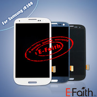 Wholesale 5 For Samsung Galaxy Siii S3 i9300 White black blue Touch LCD Screen Digitizer Replacement Free DHL ship