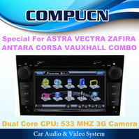 Wholesale 3G Car DVD GPS Navi Radio Headunit For OPEL ASTRA VECTRA ZAFIRA CORSA ANTARA VAUXHALL MERIVA Map Gift Camera