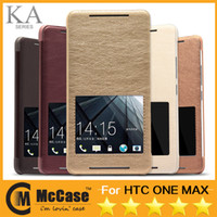 For HTC Leather For Christmas Original Kalaideng KA Series For ONE MAX Luxury Unique Design Slim Thin PU Leather S VIEW Stand Cover Phone Case For HTC ONE MAX