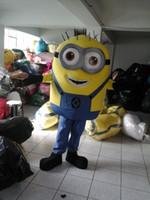 VENDITA NUOVO Cattivissimo Me <b>Minion costume</b> della mascotte del vestito da partito CALDO