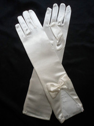 Wholesale Cutout Bride Fingerless White Long And Short Gloves Bridal Satin Gloves Long Wedding Accessories Gloves