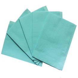 Wholesale Buy4now Special Supply Blue quot X quot Tattoo Dental Piercing Bibs Disposable Waterproof Sheets ply