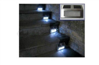 Wholesale LED Solar Stainless Outdoor Staircase Light Solar Powered Stairway Wall Light Corridor Lamp