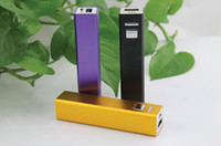 Wholesale 200pcs hotting Universal Square column shape Power Bank mAh External Backup Battery Charger For Samsung Galaxy S4