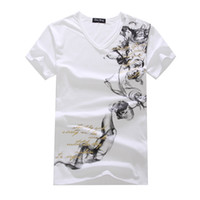 Men Polo Short Sleeve free shipping--Wholesale Lycra cotton men's short sleeve T-shirt