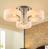 Incandescent acrylic dining room - Modern acrylic glass ceiling light head Dia CM dining room lamp