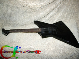 On sale Stock Guitar Black Classic Explorer Electric Guitar