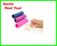 Wholesale Lowest Price New Magic Silicone Garlic Peeler Peel Easy Kitchen Tool