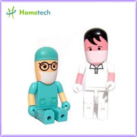 Wholesale flash memory drive1GB GB GB GB GB GB Lovely character doctor flash drive promotional flash drive usb stick