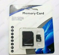 Wholesale 50pcs DHL GB Class Micro SD TF Memory Card with SDjgiftGIFT Adapter Retail Package Flash SD SDHC Cards
