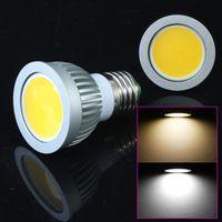 Wholesale Indoor Lighting E27 E14 GU10 W COB LED Spot Light Bulbs Lamp Warm White Cool White High Brightness Energy SD0187