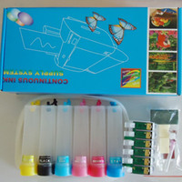 Wholesale CISS New empty Continuous Ink Supply System For EPSON STYLUS Photo TX700 TX800 T50 Inkjet printer