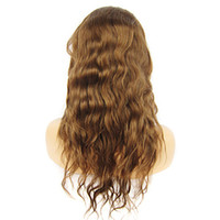 Mix Color Brazilian hair Body Wave hot sale Body Wave 20inch Indian Remy Hair Full Lace Wig DHL Free Shipping Full Lace Wigs African American Wigs AAAAA quality human hair wig