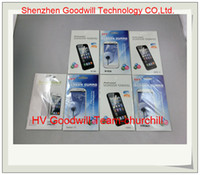 Wholesale Sample test Professional Clear Anti scratch Screenguard Clear screen protector for Samsung Win S2 S3 S4 Note Note Note churchill
