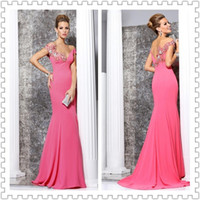 2014 Tarik Ediz Off- Shoulder Mermaid Style Prom Dresses Sexy...