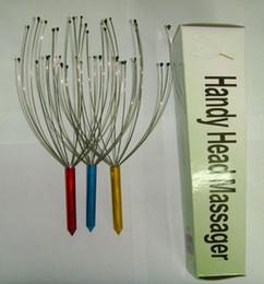 Wholesale 600pcs Handy Head Massager Head Neck Scalp Stress Release Massager ead Scalp Neck Octopus Equipment