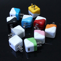 For Apple iPhone Dock Chargers  Mini Type Foldable US Plug USB AC Power Adapter Wall Charger for iPhone 4 4S 5 5C 5S iPad 4 Air 5 Samsung Galaxy S3 S4 Note3 Blackberry HTC
