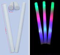 Colorful LED clignotant en mousse de mousse de bâton Led Fluorescent Concert Props fournitures Led mousse de bâton EMS Livraison gratuite 1000pcs