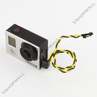 Wholesale 90 Degrees USB Connector to AV Video Output Cable FPV For GoPro Hero Camera