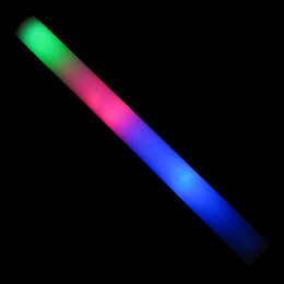 led party foam stick flashing Sponge stick light up cheering Concert supplies foam glow led stick LED toys