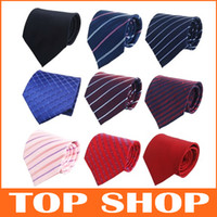 Wholesale Neck Ties Business Necktie CM Silk Arrow Type Striped Ties Ties For Men
