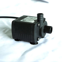 Wholesale DC V L H Brushless Magnetic Submersible Water Pump Fish Pond Garden dej