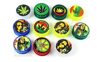 Wholesale New Arrive BOB MARLEY amp LEAF RASTA Herbal Herb Tobacco Grinder Smoke Crusher hand Muller