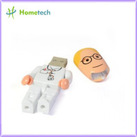 Wholesale Cheap Enough plastic character doctor usb memory GB GB GB GB usb flash drive Thumb Car Pen Free ship Gift