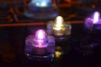 Wholesale LED Submersible Waterproof Tea Lights Decoration Candle Wedding Party New
