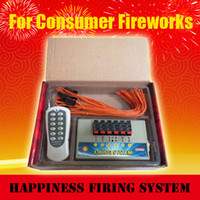 wedding, Christmas,New Year fireworks firing system - FedEX DHL CE certificate channels Remote control Fireworks Firing System talon M length igniters firing system
